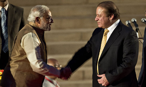 Modi shares 'emotional moments' with Nawaz