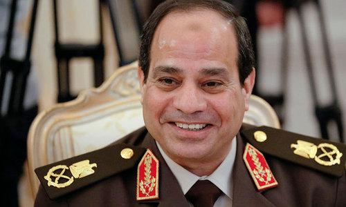 El-Sissi wins Egypt's election by landslide