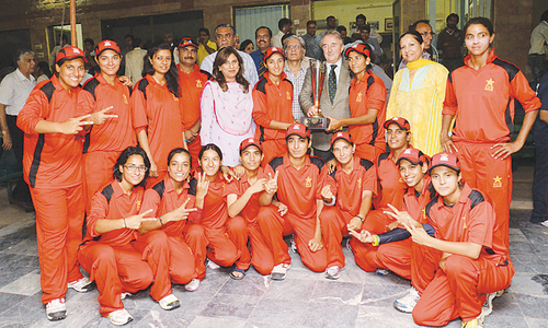Bismah steers Lahore to Fatima Jinnah cricket title