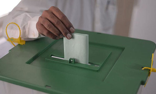 Sindh seeks biometric machines for LG polls
