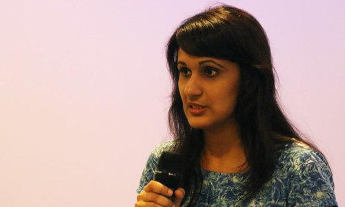 Salma Jafri, team lead for Google Business Group in Karachi. - Photo by Kurt Menezes