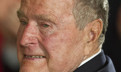 Bush senior marks 90th birthday with a skydive