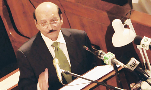 Chief minister presents Rs686bn Sindh budget