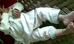 شمالی وزیرستان: پانچ ماہ کا بچہ پولیو کا شکار