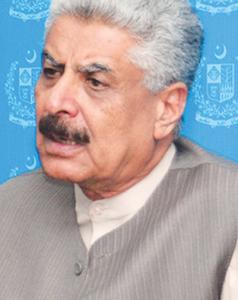 Federal Minister SAFRON Lt Gen (retd) Abdul Qadri Baloch