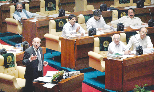 Sindh Assembly approves Rs686 billion budget, adopts finance bill