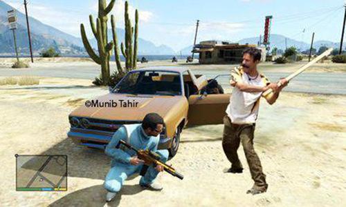 Gullu Theft Auto
