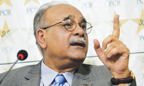 Pakistan set to earn Rs30 billion from India series: Sethi