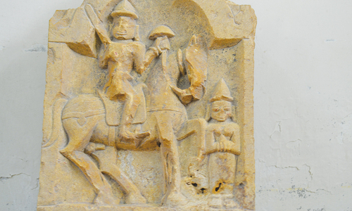 Artefact discovered at Umerkot Fort
