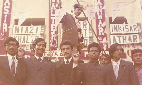 Student politics in Pakistan: A celebration, lament & history