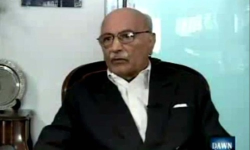 A leaf from history: Asghar Khan wants a shadow set-up