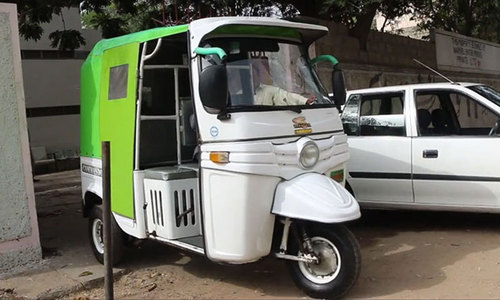 The Rickshaw Project: On the road to change