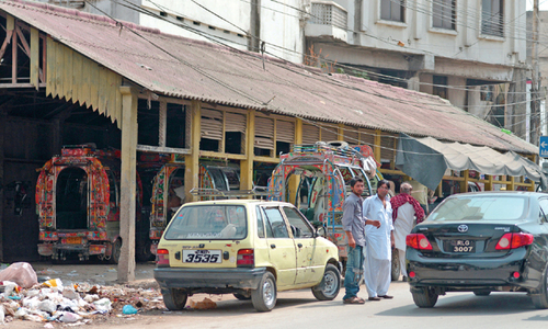 Rawalpindi going to lose another old landmark