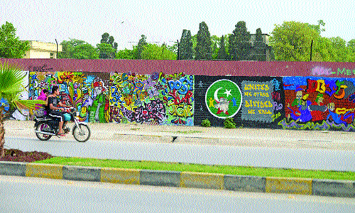 Beautification campaign in Rawalpindi
