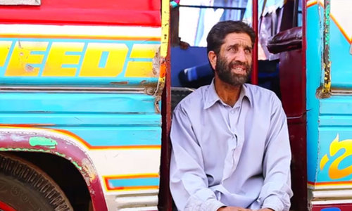 A day with the bus drivers of Karachi