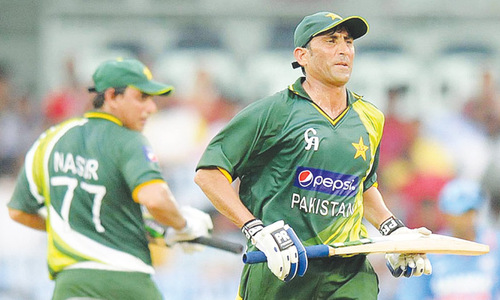 Younis earns ODI recall, Hafeez out of Tests