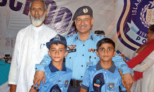 Summer camp at Police Lines concludes