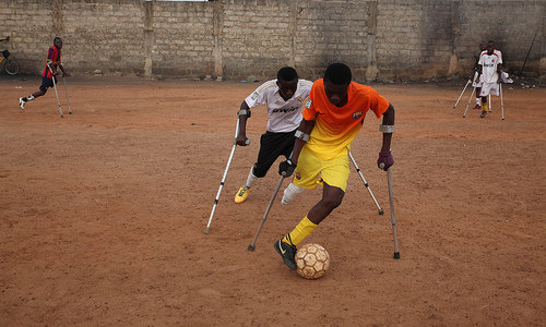 Ghana's amputee footballers strive for international glory