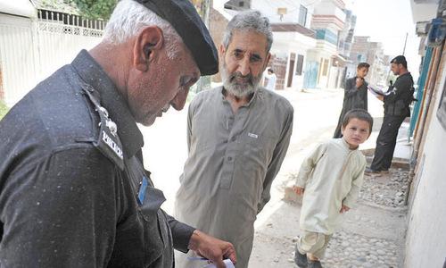 Peshawar police are overburdened