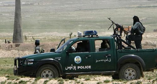 11 Afghan security men killed in attacks