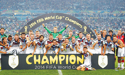 Germany's golden generation  strikes gold at last