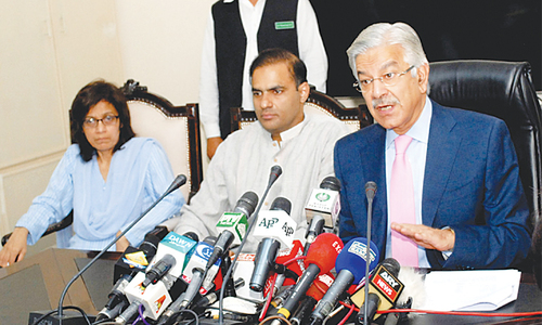 Asif invokes God's help over power crisis