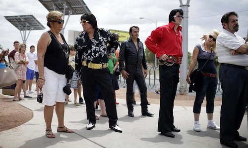 Rock 'n' Roll with Elvis at Las Vegas Festival