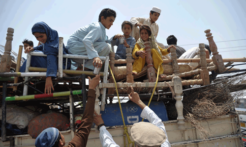 Karachiites' response to IDPs  plight minimal