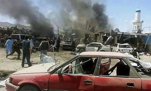 Blast in Afghanistan kills 89, wounds 40