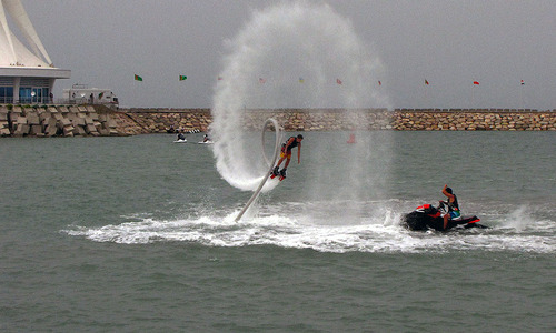 Windsurfing makes waves in Turkmenistan