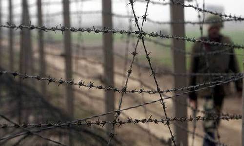 Forces exchange gunfire at Indo-Pak border