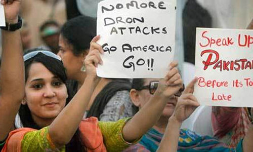 66pc Pakistanis opposed to drone strikes: survey