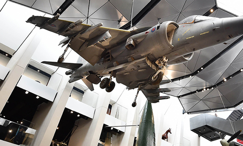 Reliving history: Britain opens First World War Galleries Atrium