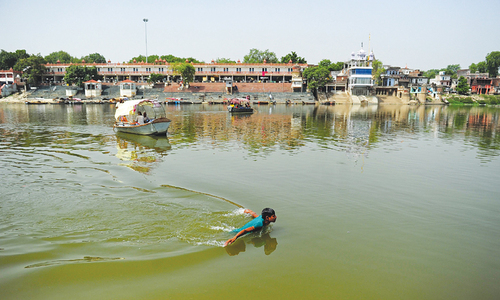 Can Modi clean the Ganges, India's biggest sewerage line?