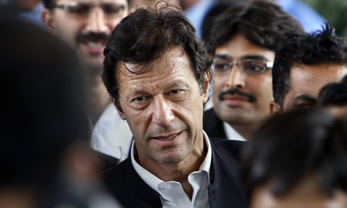 SC moved for initiating contempt proceedings against Imran
