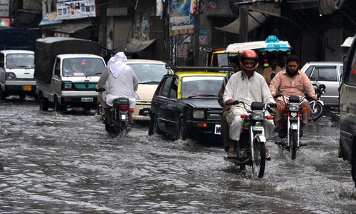 Heavy monsoon rains trigger floods in Pakistan