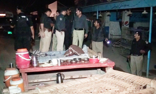 Gunmen kill three policemen, passerby in Peshawar