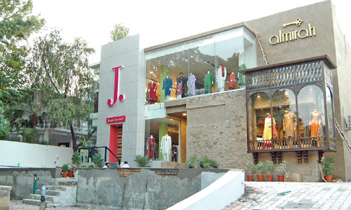 CDA moves against 'illegal' businesses in F-7