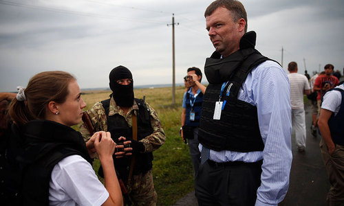 Investigators face tough task in Ukraine plane inquiry