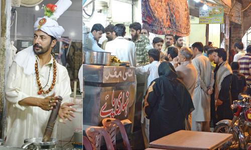 Pindi Food Street Rawalpindi