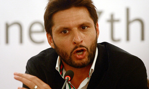 """Where is the talent?"" Afridi asks"