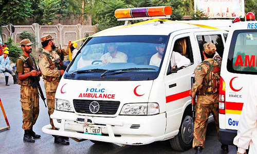 Three die in Peshawar cylinder blast