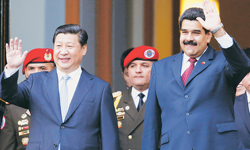 China signs economic accord to boost ties with Venezuela