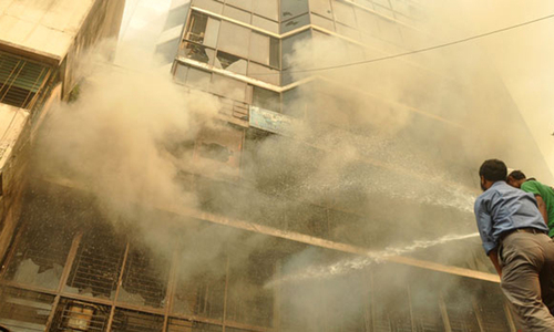 Blaze in Karachi garment factory fire controlled