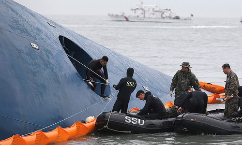 South Korean police find body of fugitive ferry owner