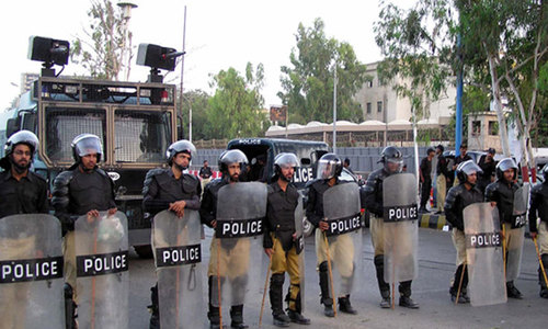 Police leaves cancelled for Eid security