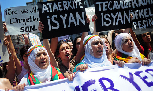 Fight against domestic violence stalls in patriarchial Turkey