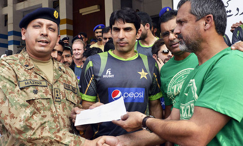 Cricketers urge fans to donate to Zarb-i-Azb IDPs