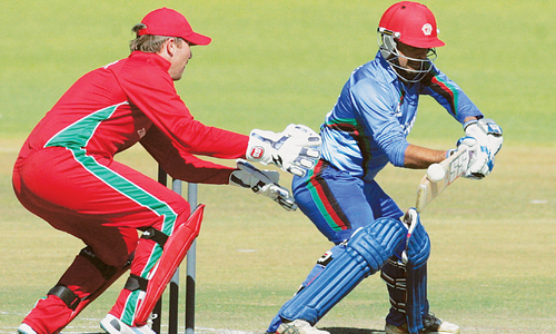 Spirited Afghanistan keep ODI series alive