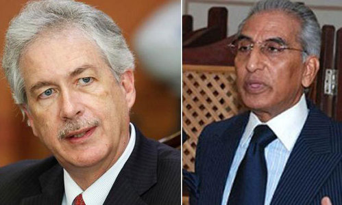 Fatemi, Burns discuss Pak-US ties